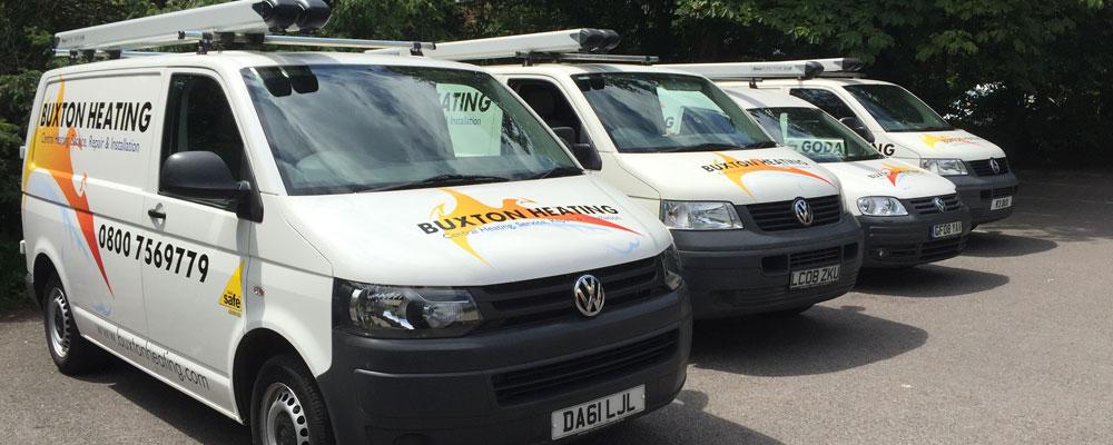 Buxton Heating Vans