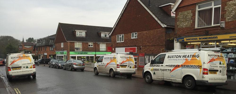 Buxton Heating Vans In Grayshott Hampshire