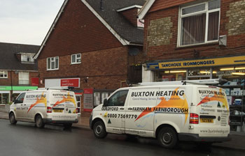 Buxton Heating Vans In Grayshott Hampshire