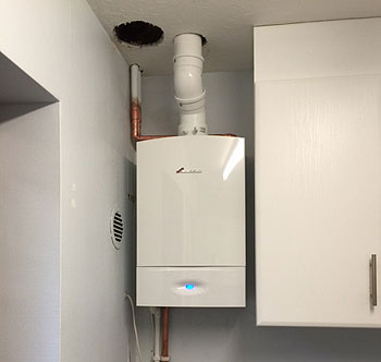 Gas Boiler Install In one of Midhurst's Domestic Building