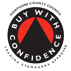 HCC Trading Standards Approved Badge