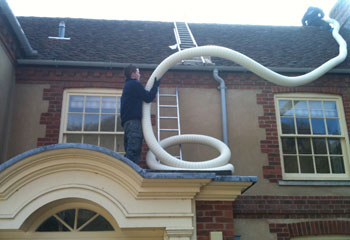 Installation Of Internal Flue For Oil Boiler