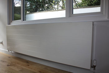 Radiator Near Window - installed by the Liphook Buxton team