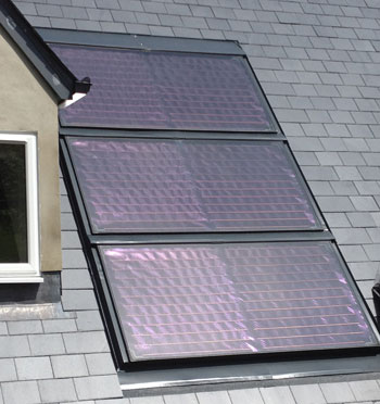 Solar Panel Install On Roof