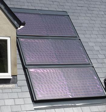 Solar Panel Install On Roof