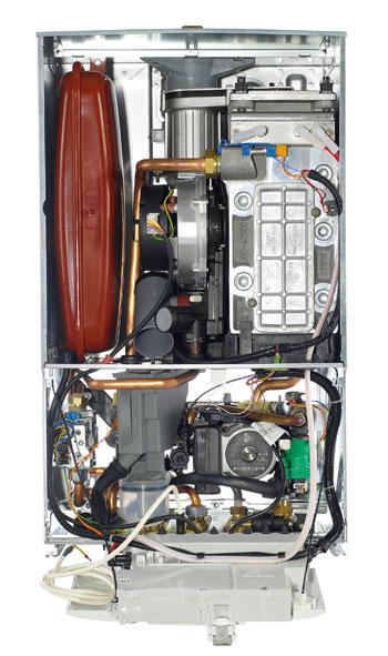 Worcester Bosch Boiler Inside View
